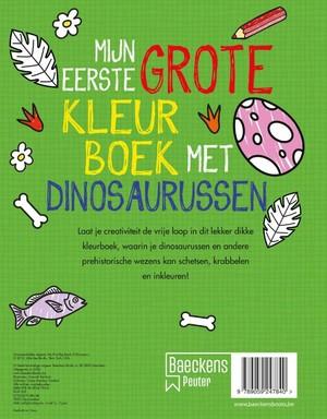 Mijn eerste grote kleurboek met dinosaurussen