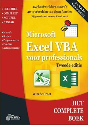 Excel VBA voor professionals