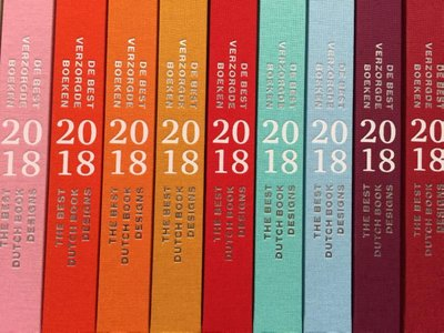 De Best Verzorgde Boeken 2018 | The Best Dutch Book Designs