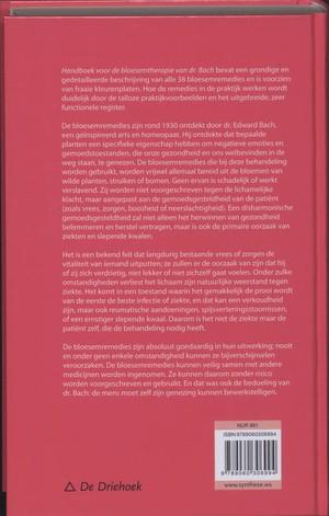 Handboek voor de bloesemtherapie van dr. Bach