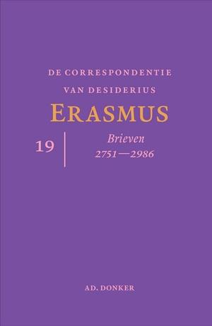 De correspondentie van Desiderius Erasmus deel 19