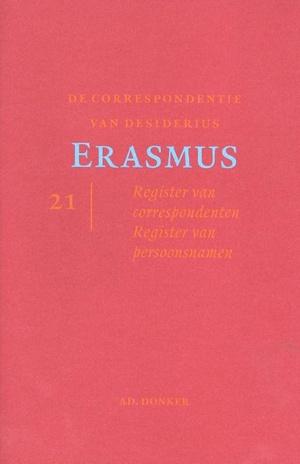 De correspondentie van Desiderius Erasmus 21