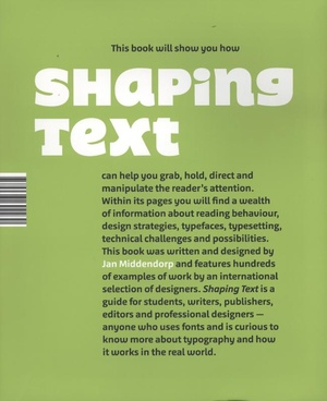 Shaping Text