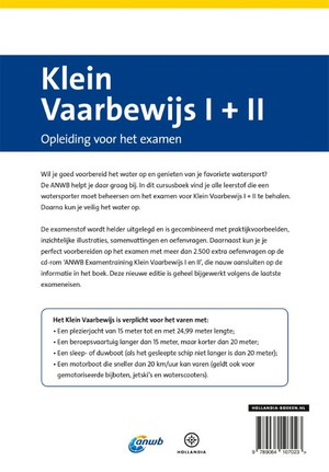 Cursusboek Klein Vaarbewijs I + II