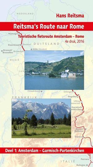 Reitsma's route 1 Amsterdam - Garmisch-Partenkirchen