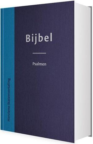 Bijbel herziene Statenvertaling blauw