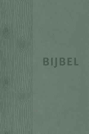 Bijbel (HSV) - groen leer met duimgrepen
