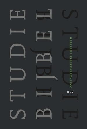 Studiebijbel (HSV) - luxe editie