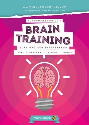Neurocampus braintraining scheurkalender 2019
