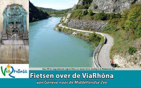 Fietsen over de Via Rhona van Geneve naar de Middellandse Zee - Editie 2018