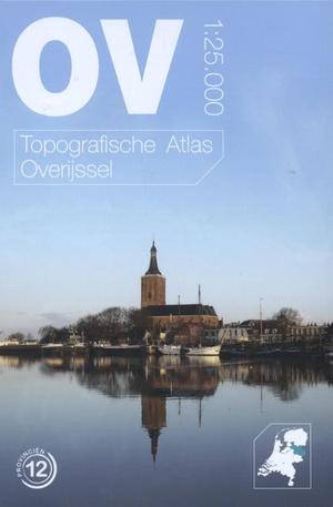 Topografische atlas van Overijssel schaal 1:25.000