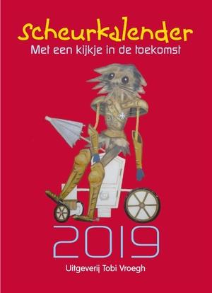 Scheurkalender met een kijkje in de toekomst 2019