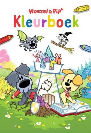 Kleurboek Woezel & Pip