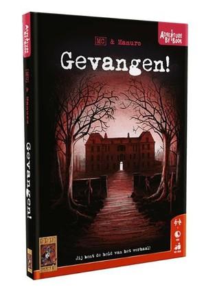 Gevangen! - Adventure by Book