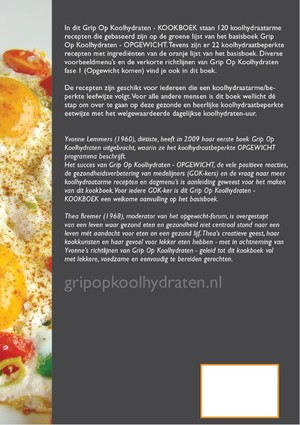 Grip op Koolhydraten Kookboek