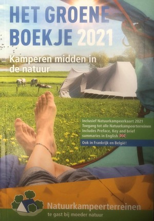 Het Groene Boekje Natuurkampeerterreinen 2021