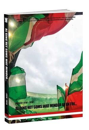 Al ging het soms wat minder af en toe - Feyenoord jaarboek 2018 - 2019