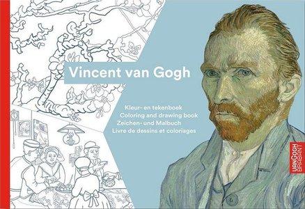 Vincent van Gogh kleur- en tekenboek