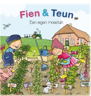 Fien & Teun een eigen moestuin