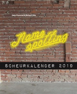 Namespotting scheurkalender 2019