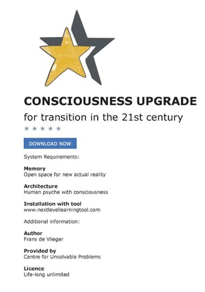 Consciousness upgrade for transition in the 21st century