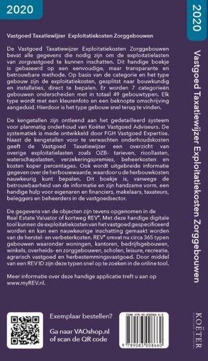 Vastgoed Taxatiewijzer Exploitatiekosten Zorggebouwen 2020