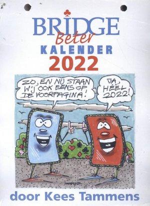 Bridge Beter kalender Bridge Beter Scheurkalender 2022
