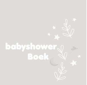 Babyshowerboek zand