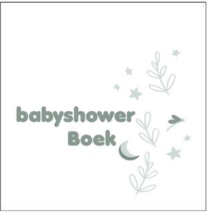 Babyshowerboek wit/groen
