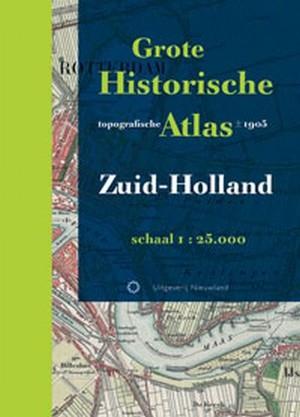 Grote historische topografische atlas Zuid-Holland