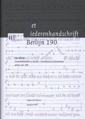 Het liederenhandschrift Berlijn 190