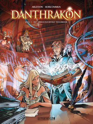 Dantrakon 01 Het vraatzuchtige toverboek