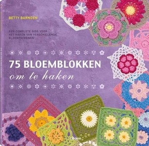 75 bloemblokken om te haken