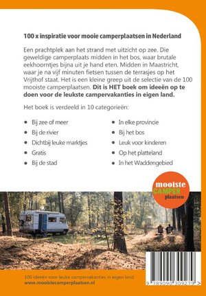 100 mooiste camperplaatsen in Nederland