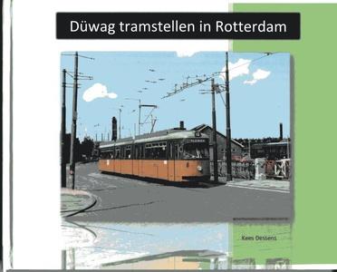 Düwag tramstellen in Rotterdam