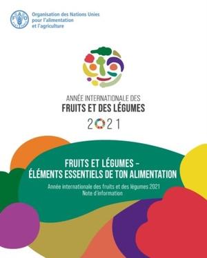 Fruits Et Legumes - Elements Essentiels De Ton Alimentation