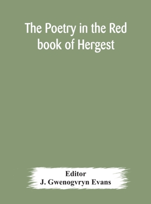 The Poetry In The Red Book Of Hergest
