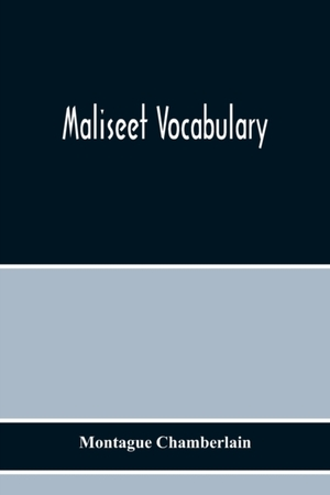 Maliseet Vocabulary