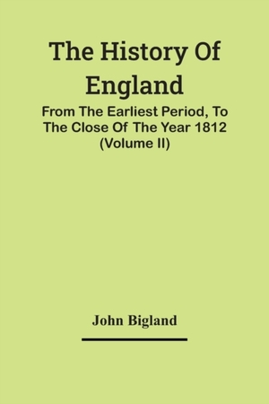 The History Of England,