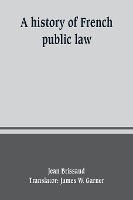 History Of French Public Law