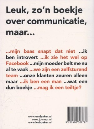 Omdenken in communicatie
