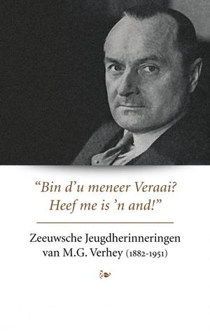Zeeuwsche Jeugdherinneringen van M.G. Verhey