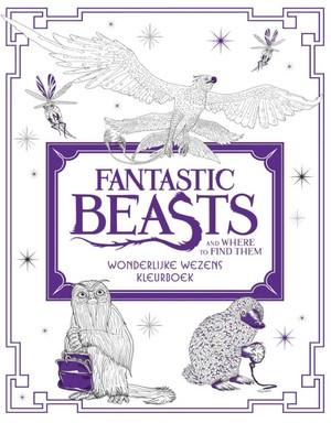 Fantastic Beasts and Where to Find Them: Wonderlijke wezens - kleurboek