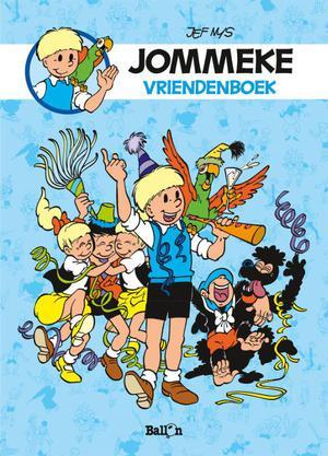 Vriendenboek Jommeke