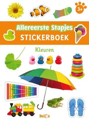 Stickerboek kleuren 3+