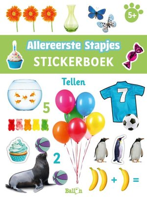 Stickerboek tellen 5+