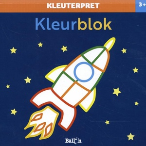 Kleurblok raket 3+