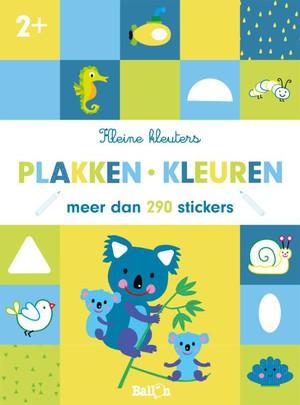 Plakken en kleuren 2+