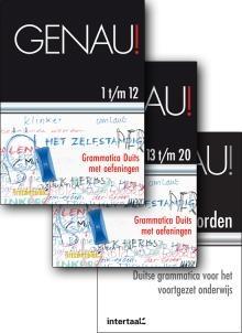 Genau! - Grammatica Duits Met Oefeningen : Set Boeken + Antwoorden