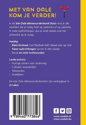 Van Dale Miniwoordenboek Duits